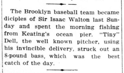 Brooklyn Baseball Fish