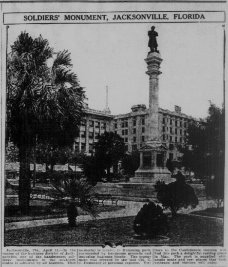 Soldiers Monument Jacksonville