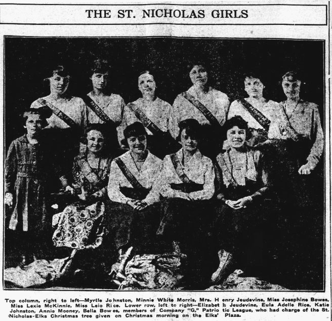 Group Shot St. Nicholas Girls