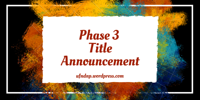 Phase 3 Titles.fw
