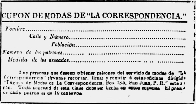 Snippet from La Correspondencia- August 14, 1910