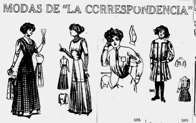 Snippet from La Correspondencia- August 21, 1910