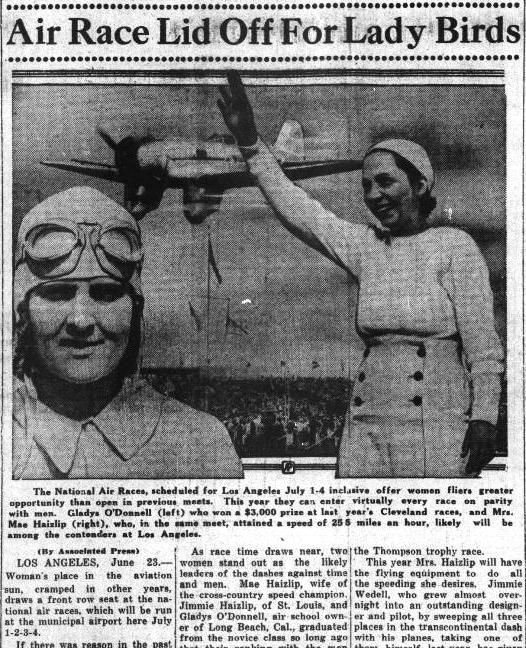 Air Race for Lady Birds