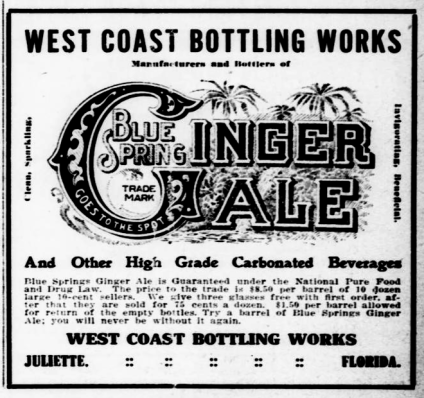 Juliette West Coast Bottling Company