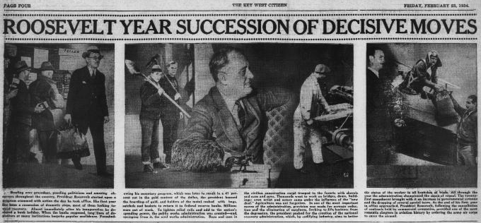Roosevelt Year Succession of Decisive Moves