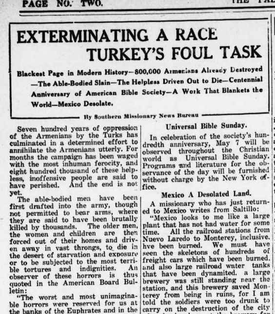 Exterminating a Race Turkey's Foul Task
