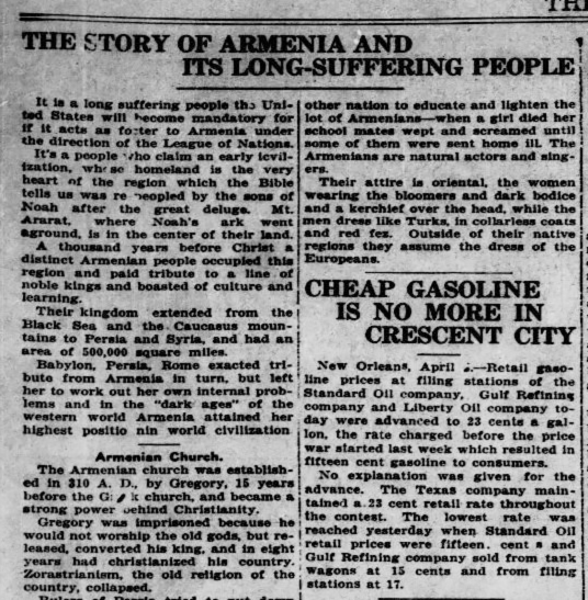 The story of Armenia and its long suffering people