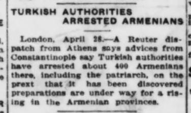 Turkish Authorities Arrested Armenians